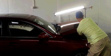 Auto Body Paint Repair in DFW
