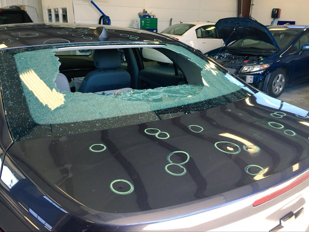 Fort Worth Auto Hail Damage